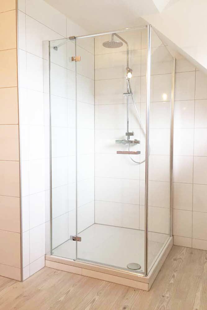moderne Duschkabine nach Badezimmer Renovierung - Installateur Spittal Zraunig & Reschreiter
