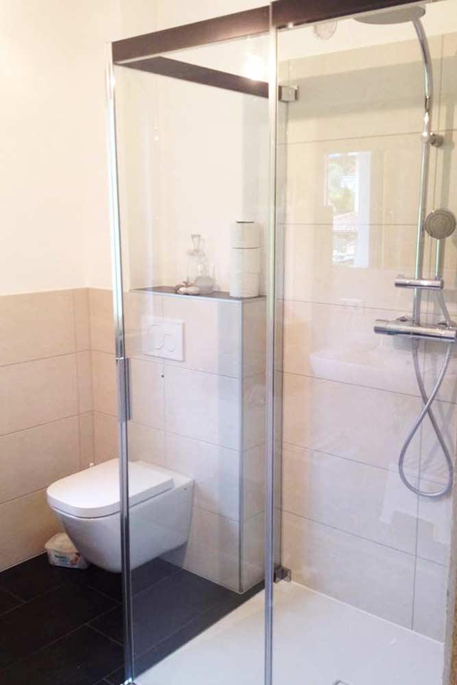 modernes Bad neu geplant und installiert vom Installateur Spittal Kärnten - Referenzen Badezimmer Renovierung - Bäderplanung